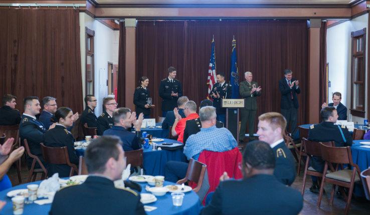 Veterans luncheon at Lehigh
