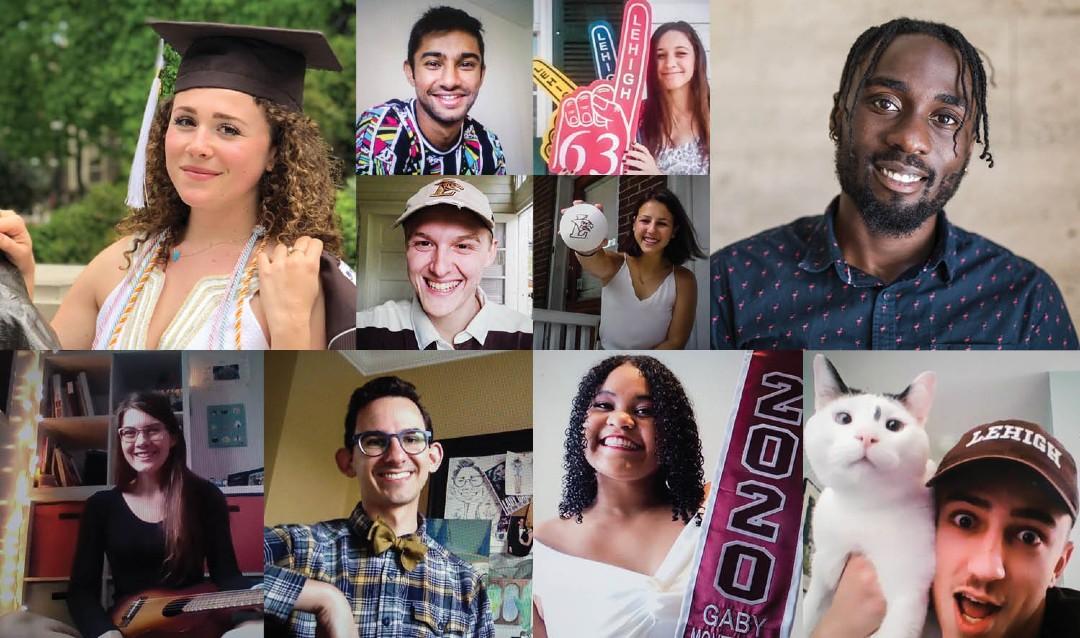 Collage of 2020 Lehigh  graduates