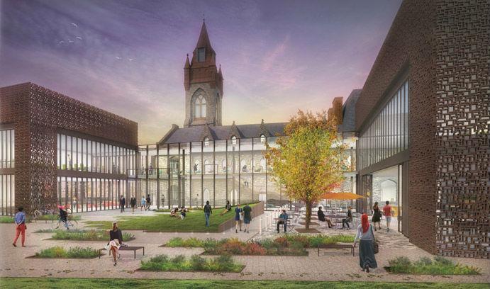 Rendering of the University Center