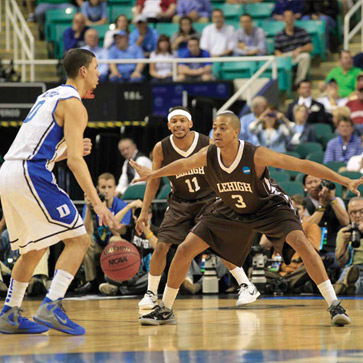 Lehigh cs. Duke 2012 NCAA tournament
