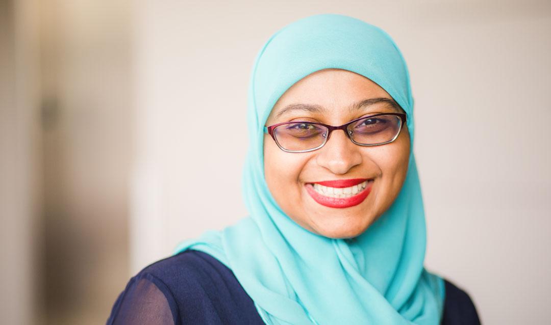 Fathima Wakeel of Lehigh University's College of Health