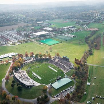 Aerial view of Lehigh's Goodman Campus