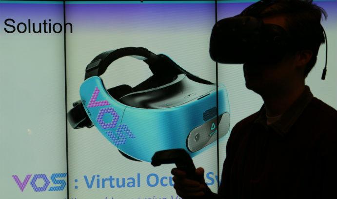 IBE students develop Virtual Reality Visual Field Analyzer