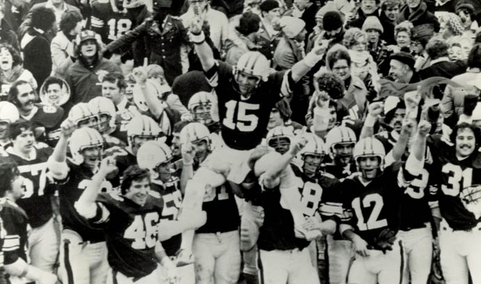 Engineers clinch 1977 national championship