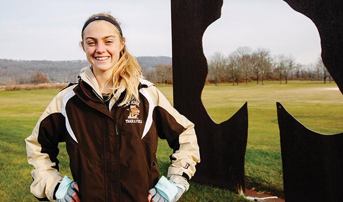 Maura Henderson has running career at Lehigh