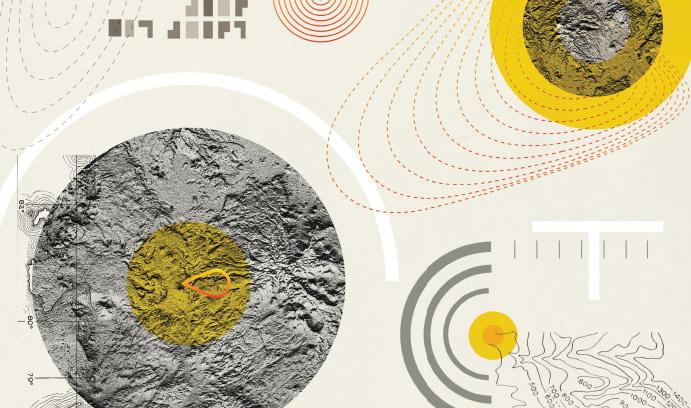 Astronomical orbit graphic