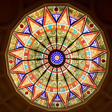 Linderman Library skylight