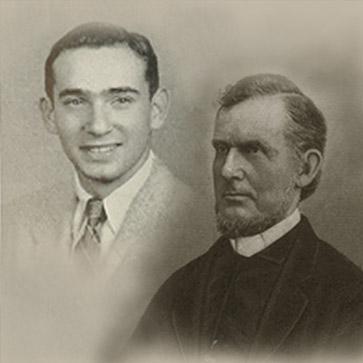 Mark Antony de Wolfe Howe and Joe Morgenstern '53