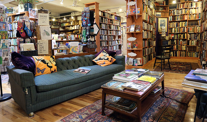 A fiercely independent bookstore