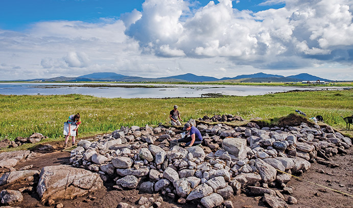 Archaeologists in Scotland race against time and climate