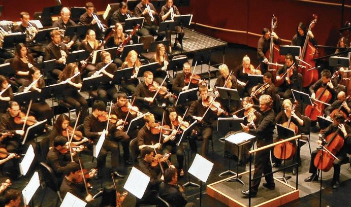 The Lehigh University Philharmonic will perform Mahler's Sixth Symphony and the Emperor Waltz by Strauss tonight and tomorrow night (Dec. 9-10) in Baker Hall. (Photo courtesy of Eugene Albulescu)