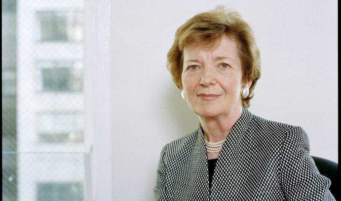 Mary Robinson, former president of Ireland