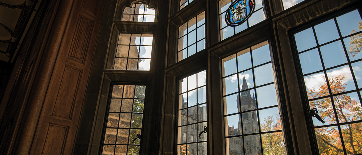 Linderman window Lehigh University